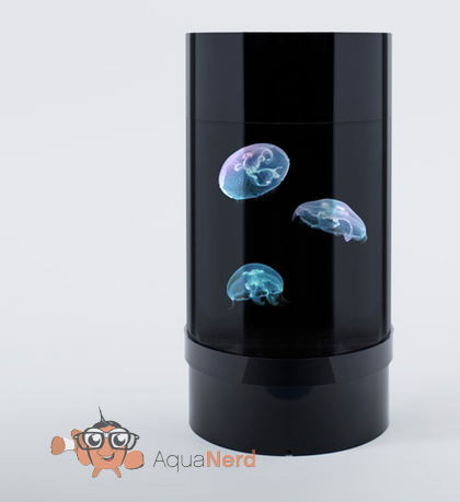 Jellyfish Art Cylinder Aquarium