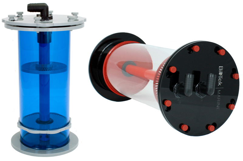 Tek and Bio Series Pellet Reactors from BioTek Marine
