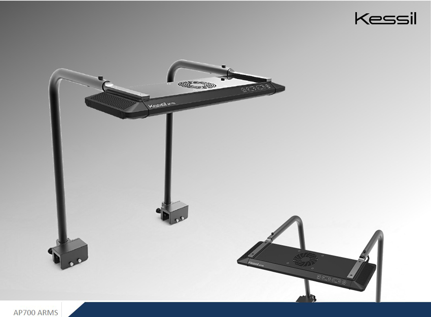Kessil Premium Mounting Arms with AP700 LED fixture