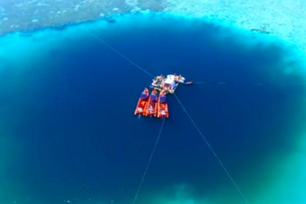 Deepest-underwater-sinkhole-found-in-China