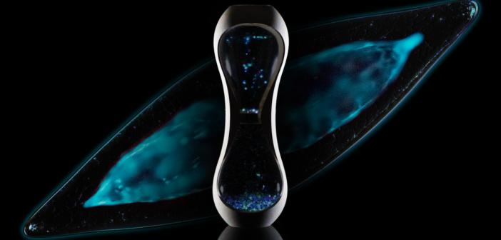 BioGlo bioluminescence aquarium available via Kickstarter